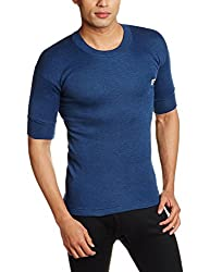 Rupa Thermocot Mens Synthetic Thermal Top (8903978492186_VOLCANO R-N H-S -80_Blue)