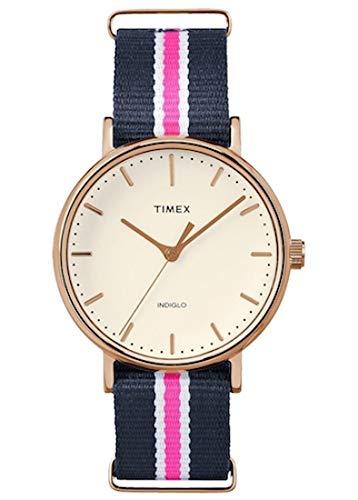 Timex Montre bracelet Mixte à Quartz Analogique Nylon tw2p91500