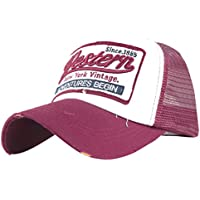 gorras beisbol, Sannysis Gorra para hombre mujer Sombreros de verano gorras de camionero de Hip Hop Impresión bordada, talla única (Rosa)