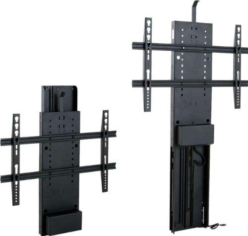 fernseher im schrank versenken TV Lift für den Möbeleinbau bis 75cm Hubhöhe 100 kg Tragkraft TS750