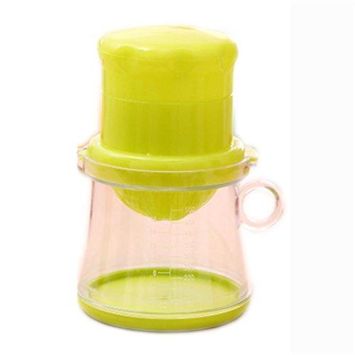 Manuelle Saftpresse Hause Babysaft Maschine ( Farbe : Grün )