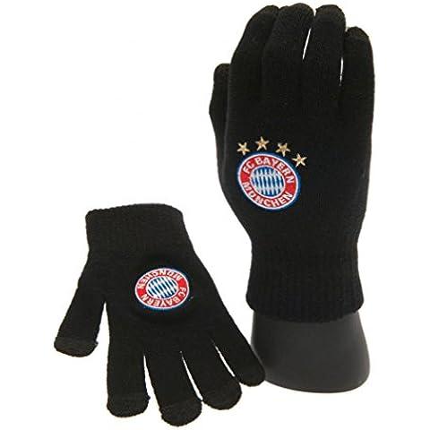 FC Bayern Monaco Maglia Guanti touch screen bianco ufficiale Merchandise