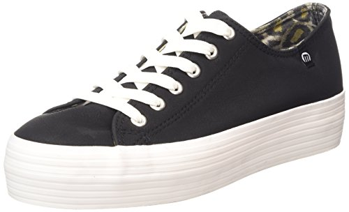 MTNG Attitude sportschuhe - Sneakers PU NOBUCK NEGRO / OUTSOLE BLANCO