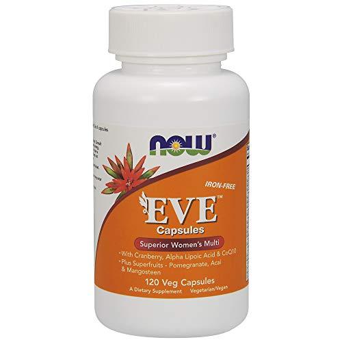 NOW Foods - Vorabend-multi Vitamin und Mineralien für Frauen - 120 Vegetarische Kapseln - Multi Vitamin-120 Kapseln