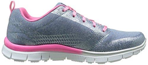 Skechers Mädchen Appeal Glimmerama Sneaker Blau - Bleu (Bleu/Rose)