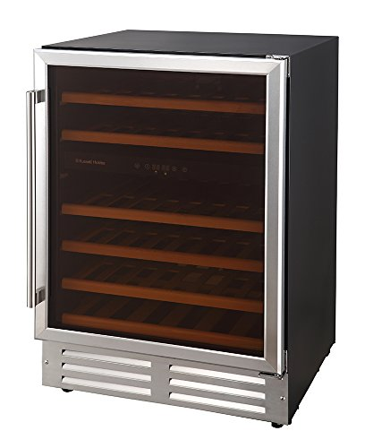 Russell Hobbs, Freestanding/Integrated, 46 Bottle Wine Cooler, RHBI46DZWC1SS Best Price and Cheapest