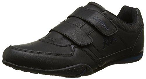 Kappa Herren Manille Vlc Sneaker Schwarz - Noir (Black/Dk Saphire)