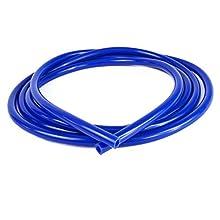 Ramair filtri VAC6MM-3 m-BL-Tubo flessibile in Silicone, colore: blu, 15 mm x 3 m