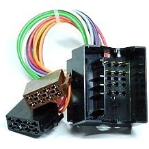 Coche adaptador de radio ISO Opel Quadlock Radio Adaptador Cable