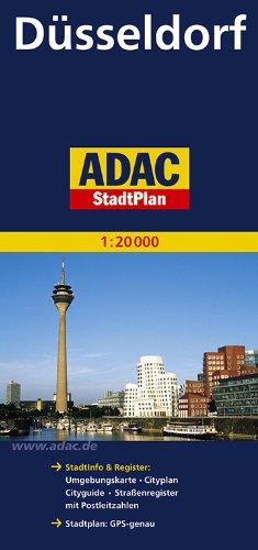 ADAC StadtPlan Düsseldorf 1:20 000 (ADAC Stadtpläne)