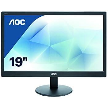 """AOC E970SWN - Monitor de 18,5"""" (VGA, 5MS), color negro"""