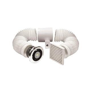 Manrose LED-Duschlicht/ Lüfter, 100mm