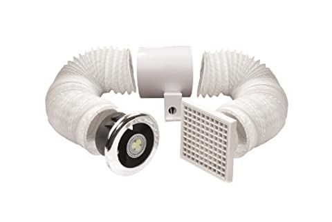 Manrose 100mm LED Shower Light/ Extractor Fan