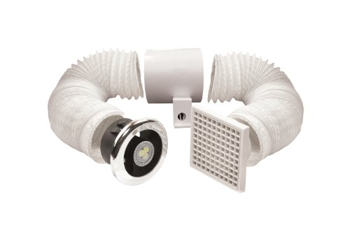 Manrose 100mm LED Shower Light/Extractor Fan