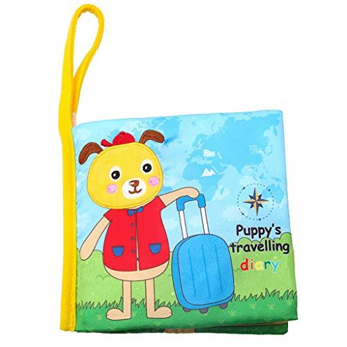 Tianya Baby Puzzle Lovely Cloth Book Bebé Juguete Cloth...