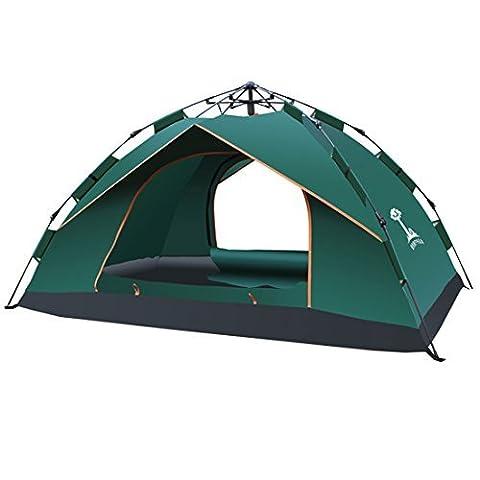 DealMux MIANBAOSHU Autorisierte Instant-Dome Wasserdicht 3 Saison-Zelt für Camping / 2-3 Personen Zelt / Backpacking Automatische Zelte Camping, Festivals, Strand Goers- 1 Zimmer