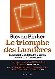 Le triomphe des Lumières par Steven Pinker