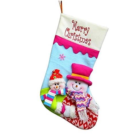 Snowman Gonflable - MORCHAN 1 x chaussette de Noël /
