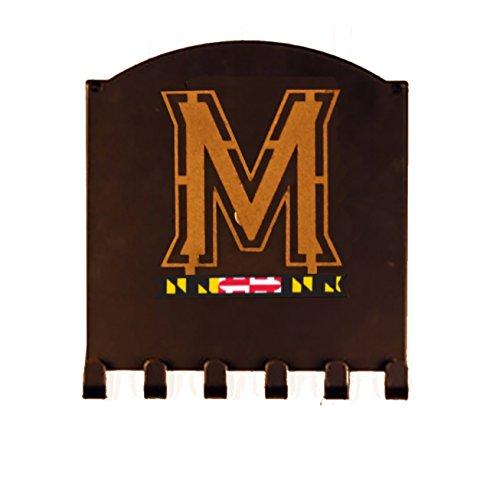 Henson Metal Works Terri Metall funktioniert 905–47Universität Maryland Classic Logo Schlüssel Halter