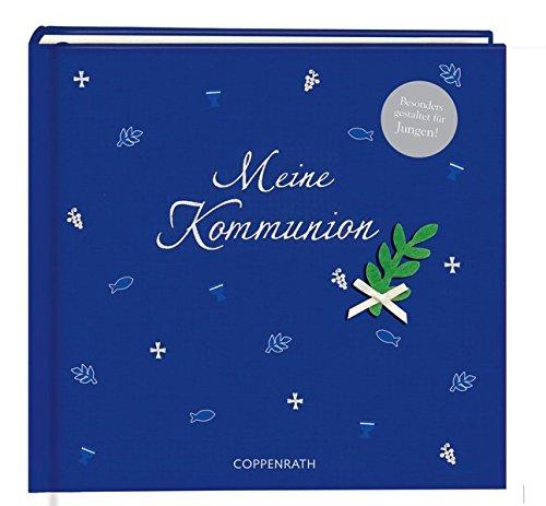 Meine Kommunion Festlich (blau): Eintragalbum