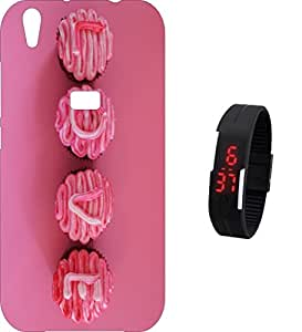 BKDT Marketing Printed Back Cover for Reliance Jio LYF Water 5 wih Digital Watch