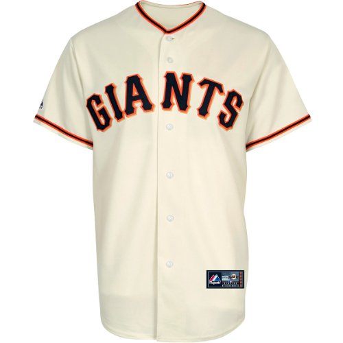 Majestic San Francisco Giants Replica MLB Trikot Home (M) (Home Trikot Go)