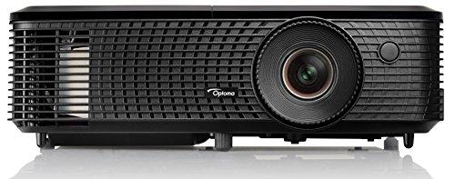 Optoma HD140X DLP-Projektor (1080p Beamer, 1920 x 1080 Pixel, 3000 ANSI Lumen, Kontrast 20.000:1, 2 x HDMI, MHL, Full HD, Zoom 1,1x) schwarz