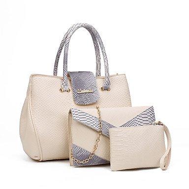 Onorevoli PU casual nuova borsa a tracolla,blu White