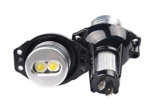 Preisvergleich Produktbild 12W weiße Angel Eye Halo Ringmarkierungsscheinwerfer-Tageslicht-Glühlampe für E90 E91 3 Reihe