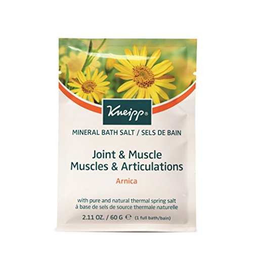 Kneipp Arnica Balancing Mineral Bath Salts Crystals Sachet 60 g – Pack of 12