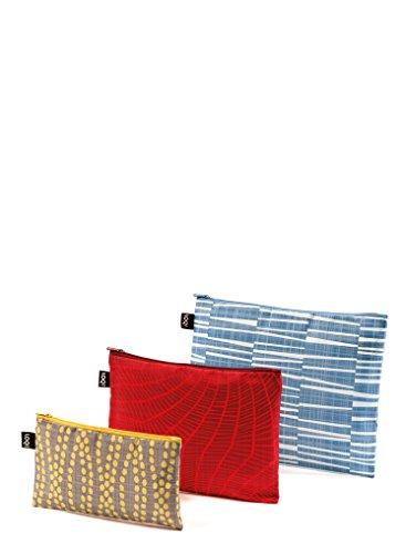 LOQI Elements Zip Pockets - Pochette à fermeture éclair