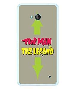 FUSON Designer Back Case Cover for Microsoft Lumia 640 LTE (Illustration Inspiration Change Motivate )