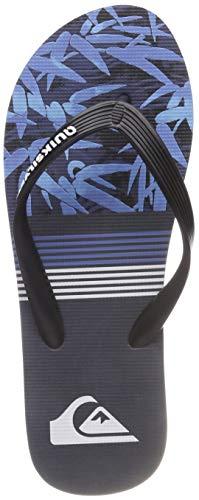 Quiksilver Molokai Zen, Zapatos de Playa y Piscina para Hombre, Azul (Black Blue-Combo Xkbb), 42 EU