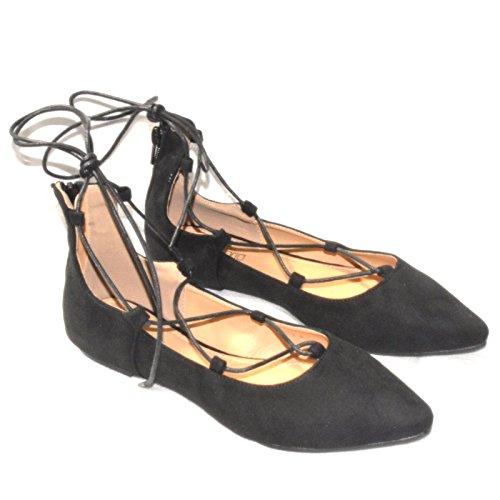 N487ww Shoeworld Noir Femme Classique Danse qgxWS7