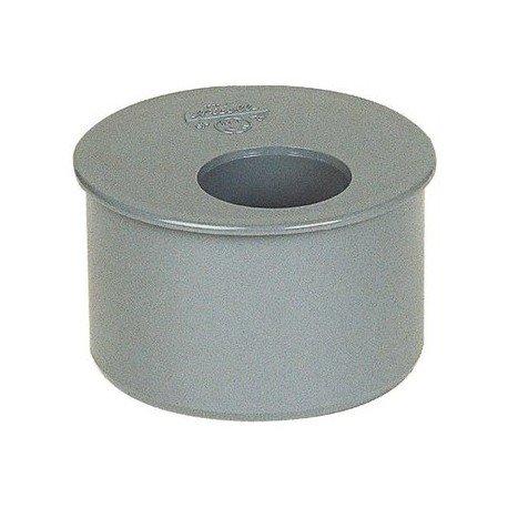 Tampon de réduction PVC gris Femelle Ø 80 63 mm Girpi