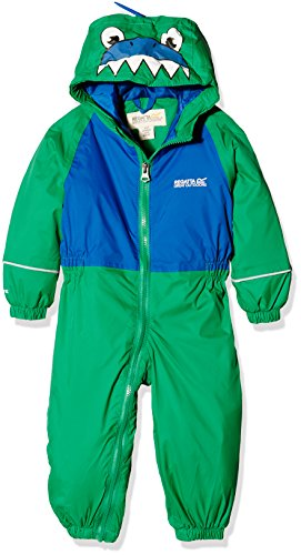 Regatta Kinder Mudplay II All in 1 Highland Green 6-12