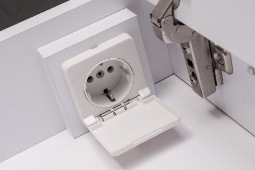 LED Spiegelschrank Badezimmer – Galdem EVEN 120 cm - 8