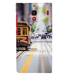 PRINTSHOPPII LONDON CITY Back Case Cover for Xiaomi Redmi 1S::Xiaomi Redmi (1st Gen)