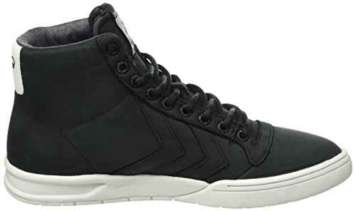 Hummel Hml Stadil Winter High, Sneakers Hautes Mixte Adulte Noir (Black)
