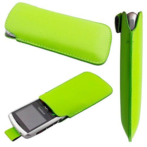 caseroxx Slide-Etui Handy-Tasche für Emporia Classic aus Kunstleder, Handy-Hülle in grün