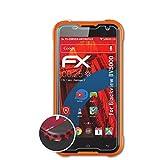 atFolix Schutzfolie passend für Blackview BV5000 Folie, entspiegelnde und Flexible FX Displayschutzfolie (3X)