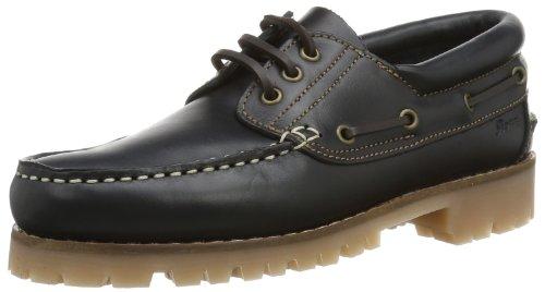 Sioux 27960, Chaussures bateau homme Bleu