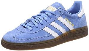 adidas Herren Handball Spezial Gymnastikschuhe Blau (Light Blue/FTWR...