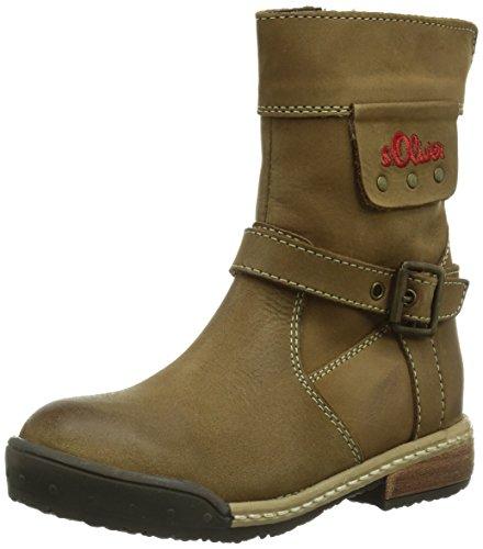 s.Oliver 36404, Boots fille Marron (Cognac 305)