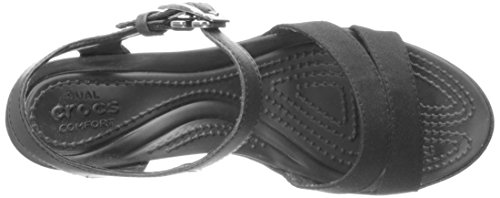 Crocs Leigh, Stivali donna nero Black Black/black