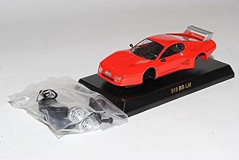 Ferrari 512 BB LM Coupe Rot 1976-1984 Bausatz Kit 1/64 Kyosho Sonderangebot Modell Auto