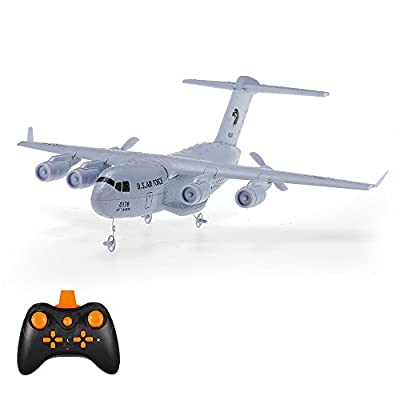 Goolsky C-17 2.4GHz 2CH 373mm Wingspan RC Airplane Transport Aircraft EPP with Gyro RTF from Goolsky