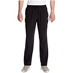 Ultrasport Advanced Jivan Pantalones de Yoga/Fitness con bi-Stretch, Hombre, Negro, XL