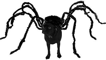 TAIMEI Lustiges Halloween-Kostüm für Hunde und Katzen, Spinnen-Design, Gruselrequisite, Horror-Party, Bösewicht und Terror Tiere
