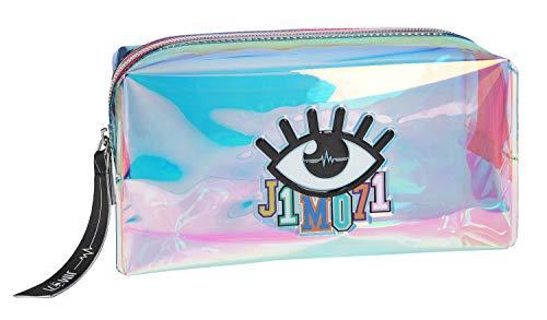 Depesche 10320 - Kosmetiktasche, Lisa und Lena J1MO71, holo multicolor